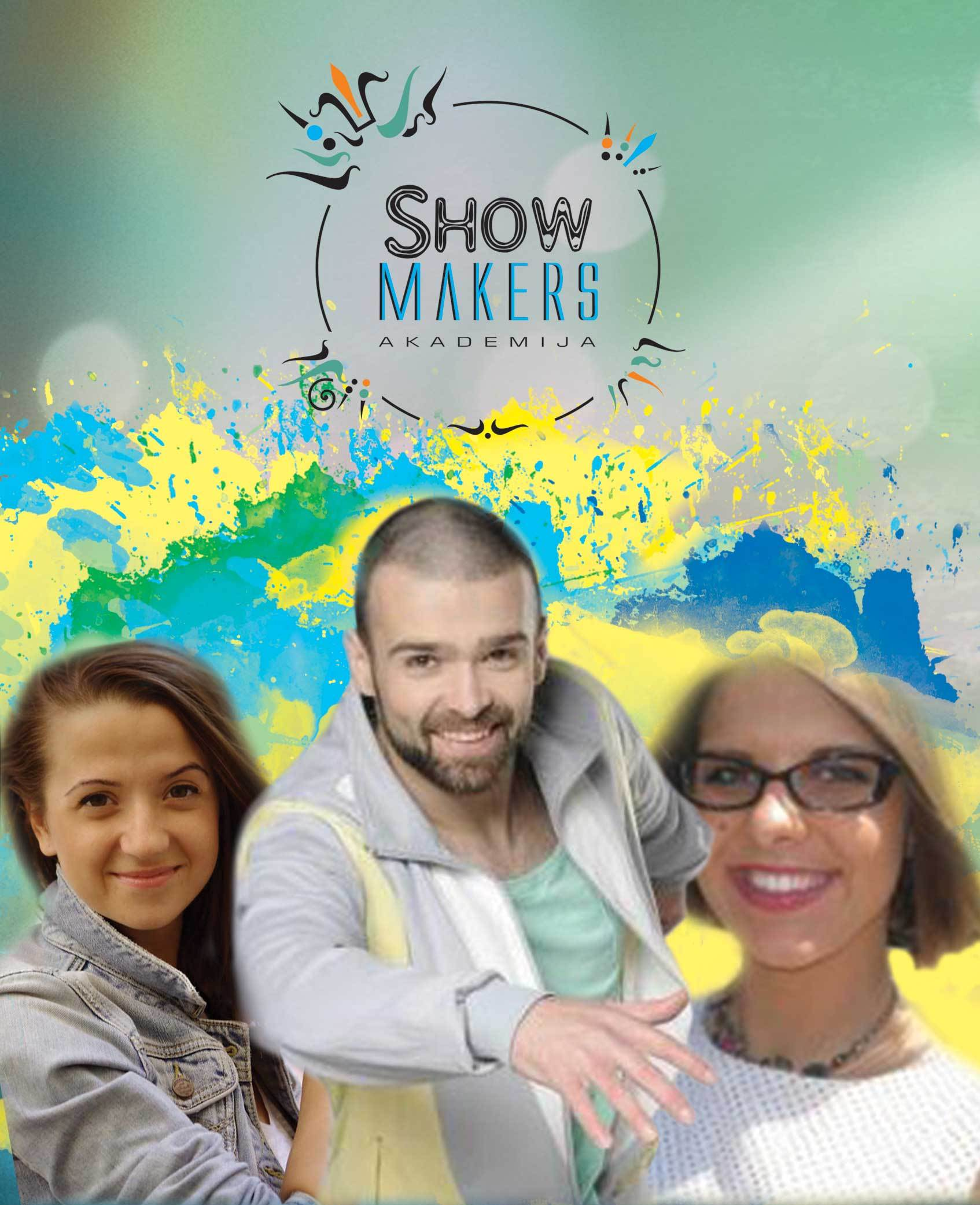 plakatas show makers