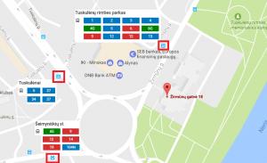 map zirmunu g 1e su stotelemis